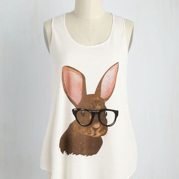 Sight Fur Four Eyes Top | Mod Retro Vintage Sweaters | ModCloth.com