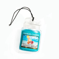 Bahama Breeze Car Jar Gel Air Freshener By Yankee Candle