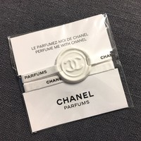 CHANEL PERFUME ME WITH CHANEL - BRACELET CC LOGO CERAMIC COLLECTOR GIFT VIP