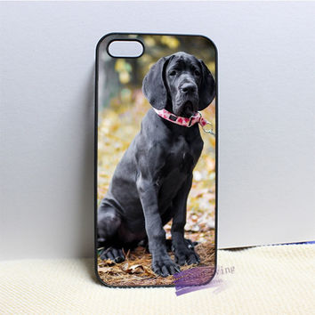 great dane puppy dog cell phone case cover for iphone #N1092