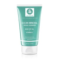 OZ Naturals Facial Cleanser - This Organic Face Wash Is A Superior Cleanser That Deep Cleans & Unclogs Pores With Ocean Minerals, Vitamin E and Rose Hip Oil. This Cleanser For Your Face Will Provide Your Skin With That Healthy, Youthful Glow - 100% Satisfa