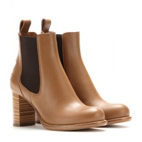 Bernie leather Chelsea boots