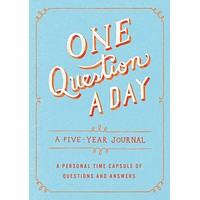 ONE QUESTION A DAY A FIVE YEAR JOURNAL