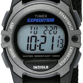 DCCKLG7 Timex Unisex Expedition Classic Digital Chrono Alarm Timer Mid-Size Watch