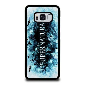 SUPERNATURAL LOGO Samsung Galaxy S8 Case Cover