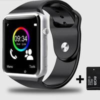 Wristwatch Bluetooth Sport Pedometer For Android Smartphone