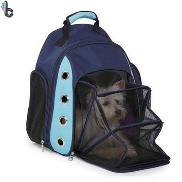 Dog Cat Carrier Breathable Backpack Pet Carrier Car Seat Basket Cat Pack Front Bag Pet Supplies