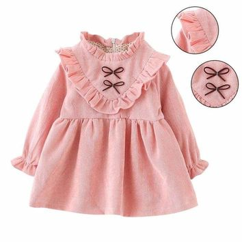 Toddler Baby Girls Princess Dress Pageant Party Tutu Dress Kids Ruffled Dresses