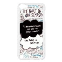 CTSLR Design Funny The Fault In Our Stars Hard Case Cover Skin for iPod Touch 5 5G 5th Generation- 1 Pack - Black/White - 3