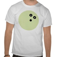 Green Bowling Ball Tees from Zazzle.com