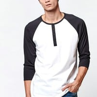 Harvey Raglan Longline Baseball T-Shirt