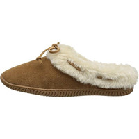 Sperry Womens Bree Mae Faux Suede Slip On Moccasin Slippers