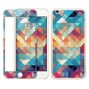 Beautiful Geometry Tempered Glass Film Screen Protector for Iphone 5s 6 6s Plus