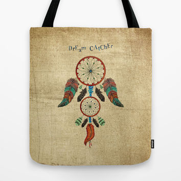 DREAM CATCHER Tote Bag by Heaven7