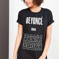 Beyonce Language Tee - Urban Outfitters
