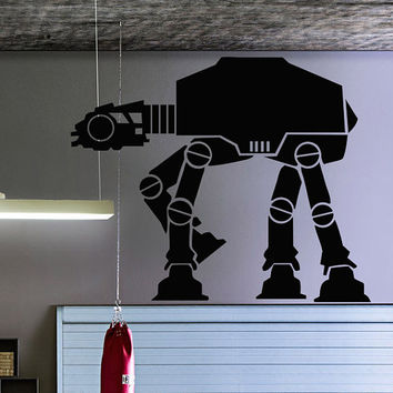 Robot Dinosaur  Wars Wall Decal Vinyl Sticker Art Decor movie plot car mechanical garage workshop Living Room Bedroom Modern Gift (i112)