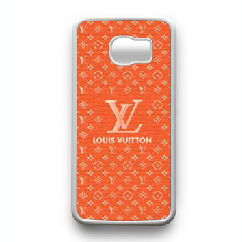Louis Vuitton red Samsung Galaxy S6 Edge Case