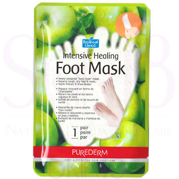 Purederm Botanical Choice Intensive Healing Foot Mask