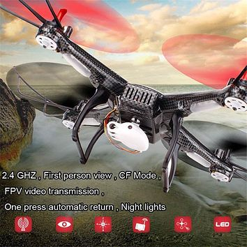 WLtoys V686K WIFI FPV Headless Mode 6-Axis Gyro 2.4G 4CH FPV Quadcopter WIFI UFO RC Helicopter Drone with Camera HD Dron VS V686
