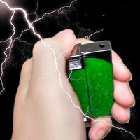 Multifunction Windproof Reuse Lighter Electric Shock Toy Novelty Joke Gifts Prank Toys Trick Your Friends