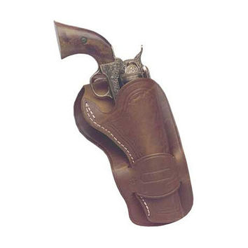 Mexican Leather Loop Holster - 7.5 Barrel