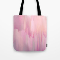 Lush Pink Tote Bag by Printapix