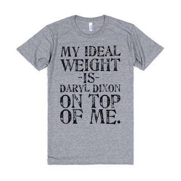 My Ideal Weight Is Daryl Dixon