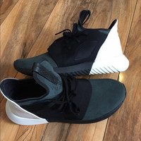 ADIDAS Fashion Sneakers Sport Shoes Tubular defiant Sneakers Black toe cap
