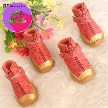 Winter Pet Dog Shoes Waterproof Small Big Dog's Boots