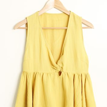 Callie Front Knot Blouse