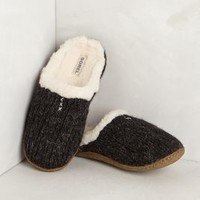 Nakiska Knit Slippers by Anthropologie