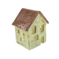 Ceramic House Candle Holder - Rustic Decor - Luminaria - Edit Listing - Etsy