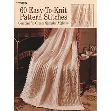Leisure Arts-60 Easy-To-Knit Pattern Stitches