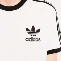 adidas Originals White Archive Tee - Urban Outfitters