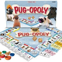 Late For The Sky Childrens Board Games Pug-Opoly