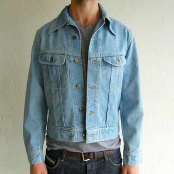 Vintage Lee Light Blue Denim Jacket