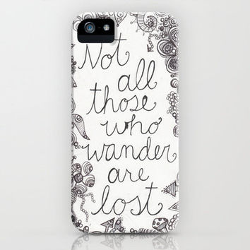 Those who wander iPhone Case by Studio 502 | Society6