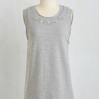 Mid-length Sleeveless All Fun and Glams Top