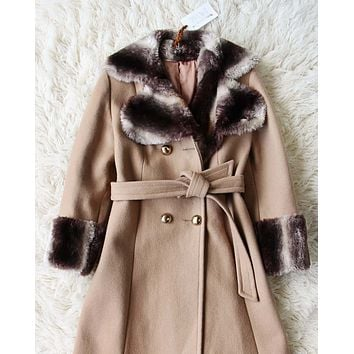 Vintage 60's Russian Princess Coat