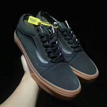 VANS BROTHERS Marshall Sport shoes black-brown soles H-PSXY