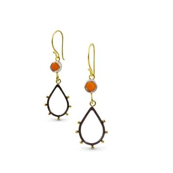 Spark and Fire Earrings