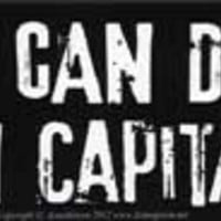 """America Can Do Better Than Capitalism bumper sticker - 11"""" by 3"""""""