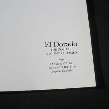 1974 El Dorado New York Graphic Society Ex-Library Hardcover no DJ