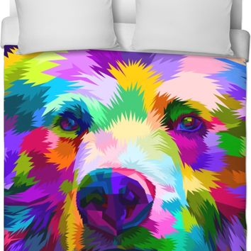 ROB Bears Face Duvet Cover