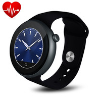 Fashion Fitness Tracker Pedometer Heart Rate Monitoring Health Smart Watch With Gesture Control for iPhone Android PK DZ09 GV18