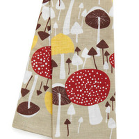 Mushroom for One More Tea Towel | Mod Retro Vintage Kitchen | ModCloth.com