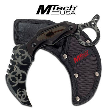 M-Tech ZOMBIE Fixed Blade Karambit