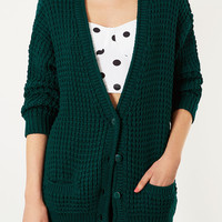 Knitted Textured Chunky Cardi - New In This Week - New In - Topshop USA