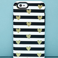 Sonix Heart Stripe Inlay Phone Case