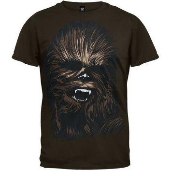 PEAPGQ9 Star Wars - Chewy Face T-Shirt